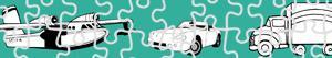 ausmalbilder Transport puzzles malvorlagen