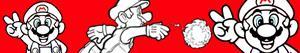 ausmalbilder Mario Bros malvorlagen