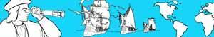 ausmalbilder Christoph Kolumbus - Entdeckung Amerikas  malvorlagen