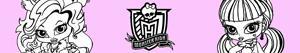 ausmalbilder Monster High Baby malvorlagen