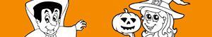 ausmalbilder Halloween party malvorlagen