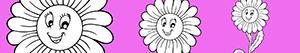 ausmalbilder Blume malvorlagen