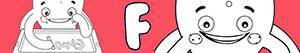 ausmalbilder Jungennamen mit F malvorlagen