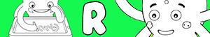 ausmalbilder Jungennamen mit R malvorlagen