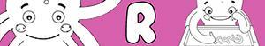 ausmalbilder Mädchennamen mit R malvorlagen