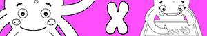 ausmalbilder Mädchennamen mit X malvorlagen