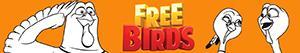 ausmalbilder Free Birds. Esst uns an einem anderen Tag malvorlagen